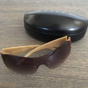 Ralph Sunglasses RA5070 Brown Horn Frame